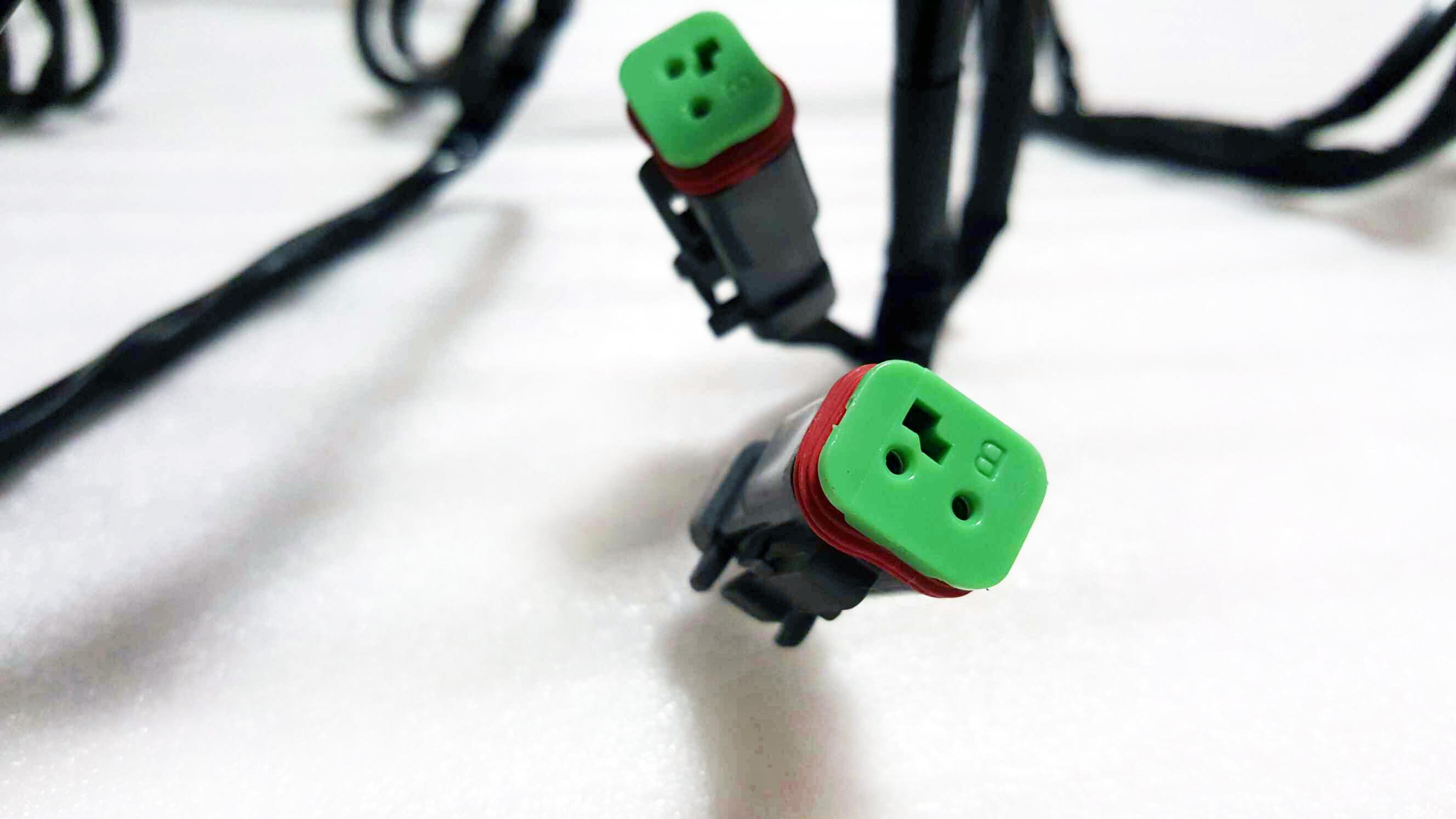 LED light bar wiring harness (High Quality) - Mad Jeeps Shop ...