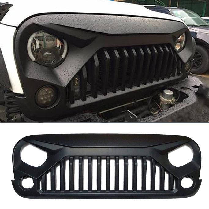 Vader Angry Grille for Jeep Wrangler JK - Mad Jeeps Shop ...